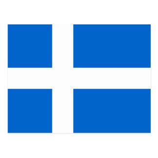 Bandera de Shetland Postal