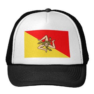 Bandera de Sicilia Gorro De Camionero