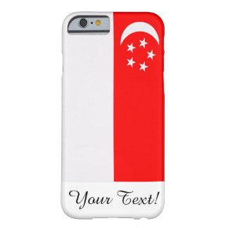 Bandera de Singapur Funda De iPhone 6 Barely There