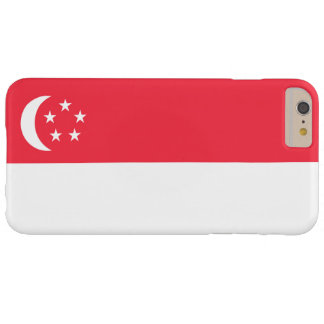 Bandera de Singapur Funda De iPhone 6 Plus Barely There