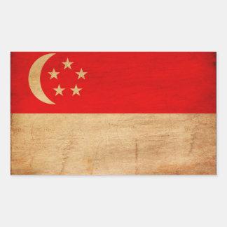 Bandera de Singapur Rectangular Altavoz