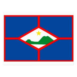 Bandera de Sint Eustatius Postal