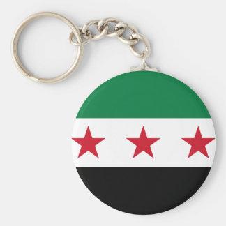 Bandera de Siria - bandera siria de la Llavero Redondo Tipo Pin