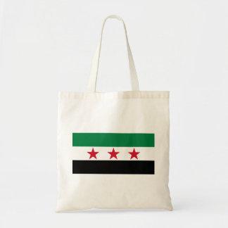 Bandera de Siria Bolsa Lienzo