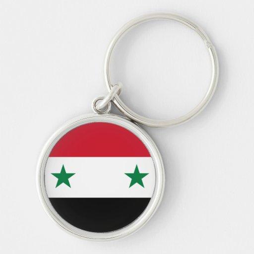 Bandera de Siria Llavero Personalizado