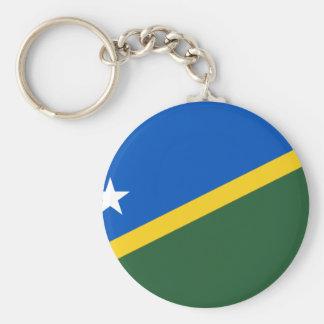 Bandera de Solomon Island, Eslovenia Llavero Personalizado
