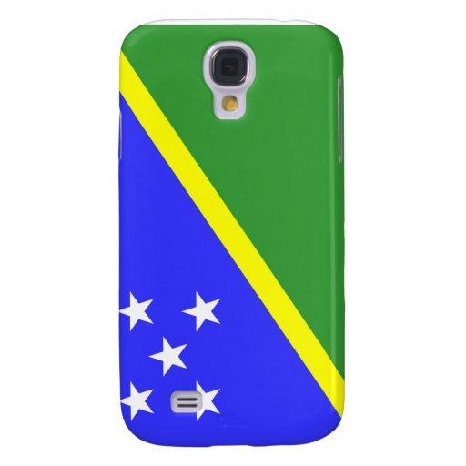 Bandera de Solomon Island Funda Para Galaxy S4