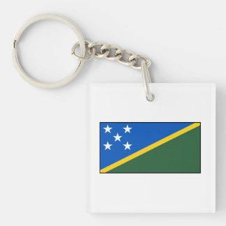 Bandera de Solomon Island Llaveros