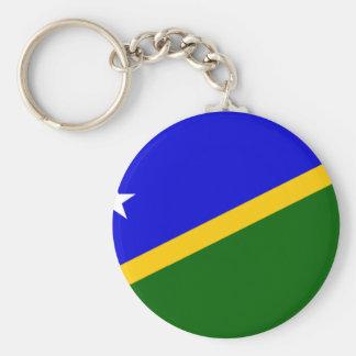 Bandera de Solomon Island Llavero