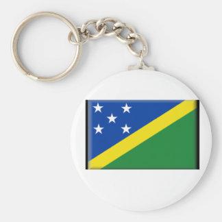 Bandera de Solomon Island Llavero Personalizado