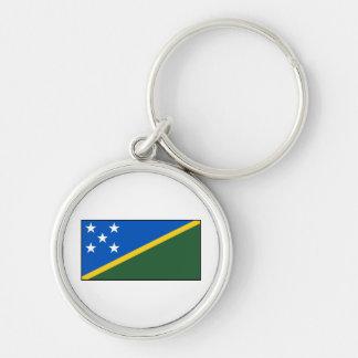 Bandera de Solomon Island Llaveros Personalizados