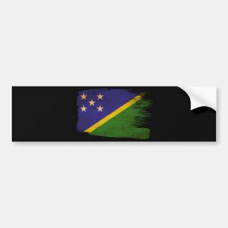 Bandera de Solomon Island Pegatina Para Auto