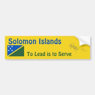 Bandera de Solomon Island + Pegatina para el Pegatina Para Auto