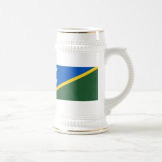 Bandera de Solomon Island Taza De Café