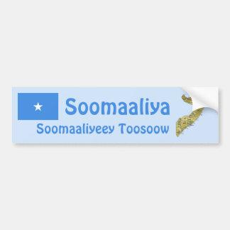 Bandera de Somalia + Pegatina para el parachoques  Pegatina Para Auto