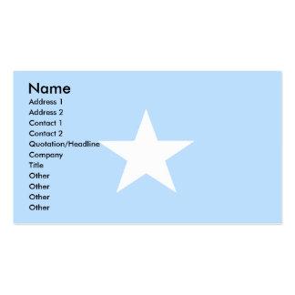 Bandera de Somalia Tarjeta De Visita