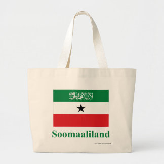 Bandera de Somalilandia con nombre en somalí Bolsa