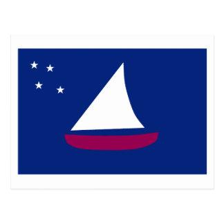 Bandera de Sonsorol Tarjeta Postal