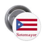 Bandera de Sotomayor de Puerto Rico Pin