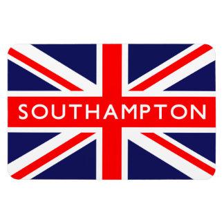 Bandera de Southampton Reino Unido Imanes Rectangulares