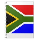 Bandera de Soutn África Libreta Espiral
