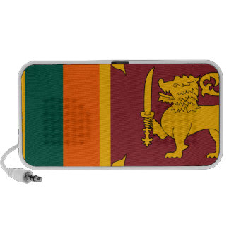 Bandera de Sri Lanka iPod Altavoz