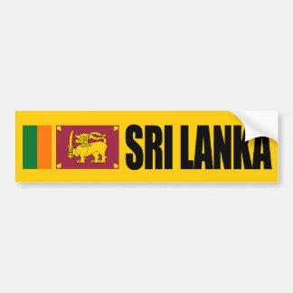 Bandera de Sri Lanka Pegatina De Parachoque