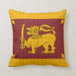 Bandera de Sri Lanka Cojin