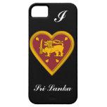 Bandera de Sri Lanka iPhone 5 Case-Mate Funda