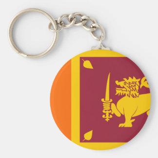 Bandera de Sri Lanka Llavero Personalizado