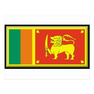 Bandera de Sri Lanka Postal