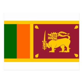 Bandera de Sri Lanka Tarjetas Postales