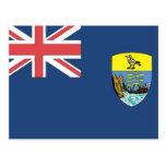Bandera de St. Helena Postal