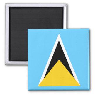 Bandera de St Lucia Imanes Para Frigoríficos