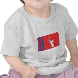 Bandera de Stalingrad Oblast Camiseta
