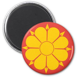Bandera de Strondheim, Corea del Norte Imán Para Frigorifico