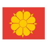Bandera de Strondheim, Corea del Norte Postal