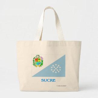 Bandera de Sucre con nombre Bolsas