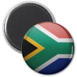 Bandera de Sudáfrica Imán Redondo 5 Cm