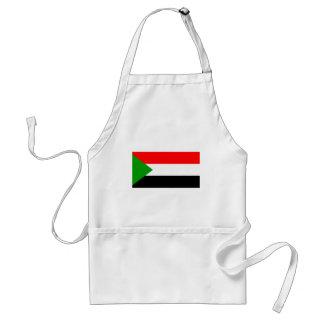 Bandera de Sudán Delantales
