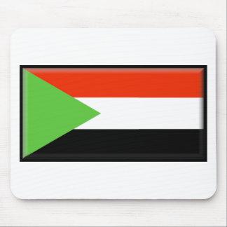Bandera de Sudán Alfombrilla De Ratón
