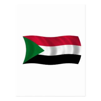 Bandera de Sudán Postales