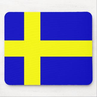 Bandera de Suecia Alfombrilla De Ratones