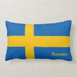 bandera de Suecia Almohada