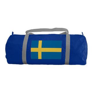 Bandera de Suecia Bolsa De Deporte
