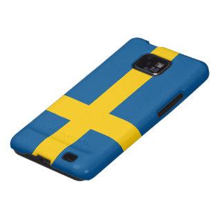 Bandera de Suecia Samsung Galaxy S2 Fundas