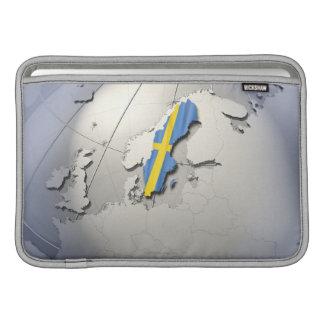 Bandera de Suecia Fundas Macbook Air