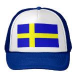 Bandera de Suecia Gorra