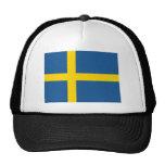 Bandera de Suecia Gorros