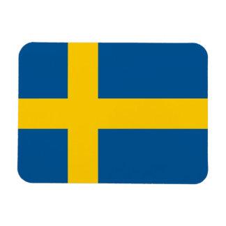 Bandera de Suecia Iman Flexible